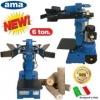 Ama σχιστες ηλεκτρικοι Ιταλίας Italy. 6 τονοι 4hp 220v .κάθετος σχίστης κορμών - ξύλου YAK 3000, με το πανίσχυρο μοτέρ που φέρει 3000 Watt /230 Volt, έχει δύναμη κρούσης 6 τόνων και ρυθμιζόμενο σε ύψος πάγκο στήριξης κορμών . Επίσης , μπορεί να σχίσει κάθ