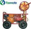 A  ΨΕΚΑΣΤΙΚΟ ΣΥΓΚΡΌΤΗΜΑ farmate TF-45/PRO   Κινητήρας: FARMATE  Ισχύς: 6,5Ηp Kαύσιμο: Βενζίνη Πίεση: 40bar Παροχή: 36Lt/min Ψεκαστικό Συγκρότημα σε Βάση με τέσσερις τροχούς αέρος και χερούλι,  εξοπλισμένη με Βενζινοκινητήρα  zongshen farmate 6,5hp και Ανέ